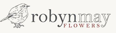 Robyn May Flowers logo